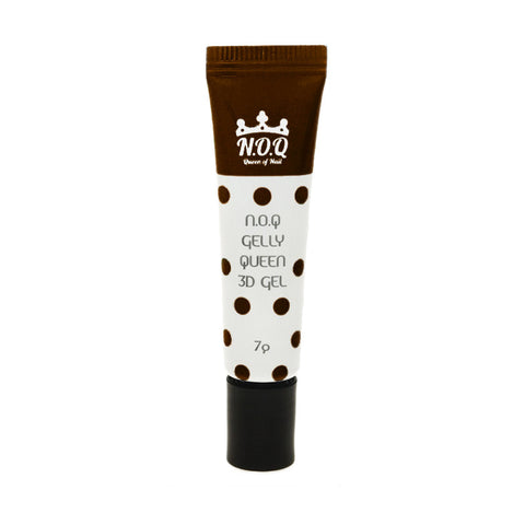 N.O.Q 3D Tube Gel No.8 / Dark Chocolate