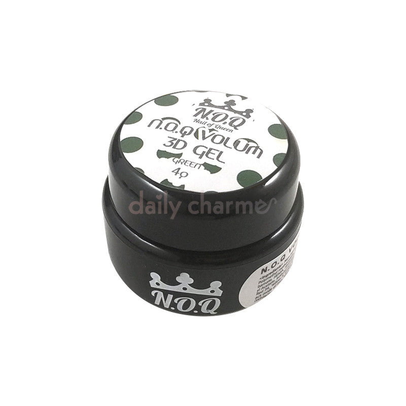 Daily Charme Nail Art Supply N.O.Q 3D Volume Gel No.5 / Green