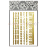 Daily Charme Nail Supply Rococo Japanese Nail Art Sticker / Chains