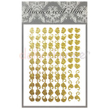 Daily Charme Nail Supply Rococo Japanese Nail Art Sticker / Heart Lace