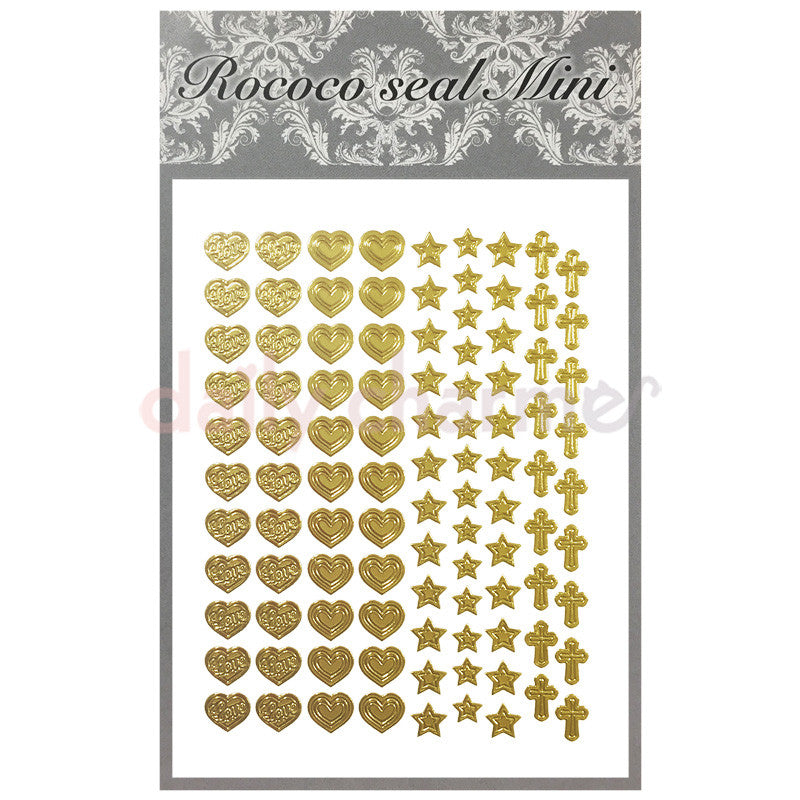 Daily Charme Nail Supply Rococo Japanese Nail Art Sticker / Symbols