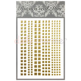 Daily Charme Nail Supply Rococo Japanese Nail Art Sticker / Frame & Studs Square