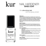 LONDONTOWN / Nail Hardener & Base Coat Cruelty Free