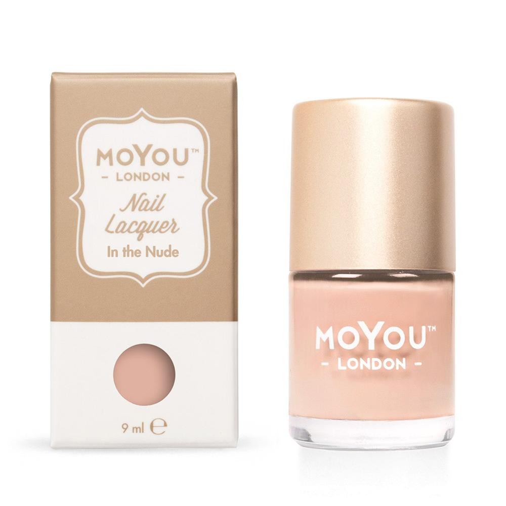 Moyou London / Stamping Nail Lacquer / In the Nude - Nude Stamping Polish