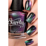Starrily / Dark Energy / Magnetic Holographic Cateye Polish