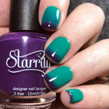 Starrily / Mermaid Lagoon / Temperature Color Changing Polish Teal Purple