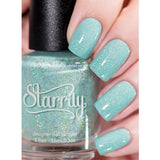 Starrily / Mint to Be Holographic Nail Polish
