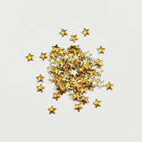 Nail Art Decoration - Star 5mm Stud / Gold