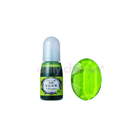 Jewel Color for UV Resin / Colorant / Yellow Green