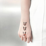 3 of a kind - Dogs Fashion Makeup by PAPERSELF Temporary Tattoo