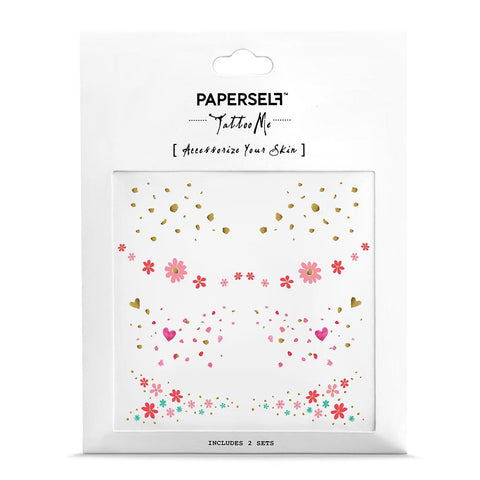 Beauty Spots Fashion Makeup by PAPERSELF Temporary Tattoo