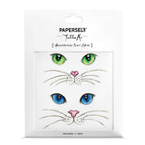 Cat Eyes Body Art Makeup by PAPERSELF Temporary Tattoo