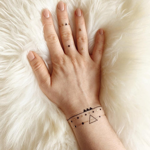 Constellation Body Art Makeup by PAPERSELF Temporary Tattoo