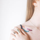 Crystals Body Art Makeup by PAPERSELF Temporary Tattoo