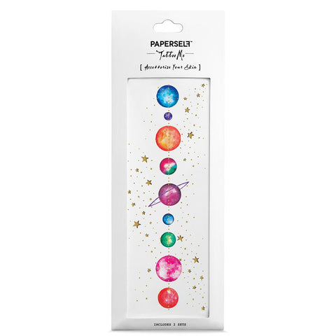 a49acffc003be PAPERSELF Temporary Tattoo / Planets. PAPERSELF Temporary Tattoo / Planets.  $9.50. Poppy Fashion Instagram Style ...