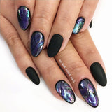Daily Charme Shell Japan Shell Sticker / Violet Nail Art So Hot Right Nail
