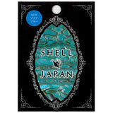 Daily Charme Shell Japan Shell Sticker / Aqua Blue