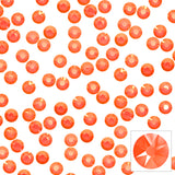 Swarovski Round Flatback Rhinestone / Electric Orange Crystals for Nail Art