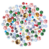 Swarovski Mystery Crystal Value Mix for Nail Art Flatback Pointed Back AB Colorful