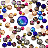 Swarovski Enchanted Autumn Round Flatback Crystal Value Mix Nail Art