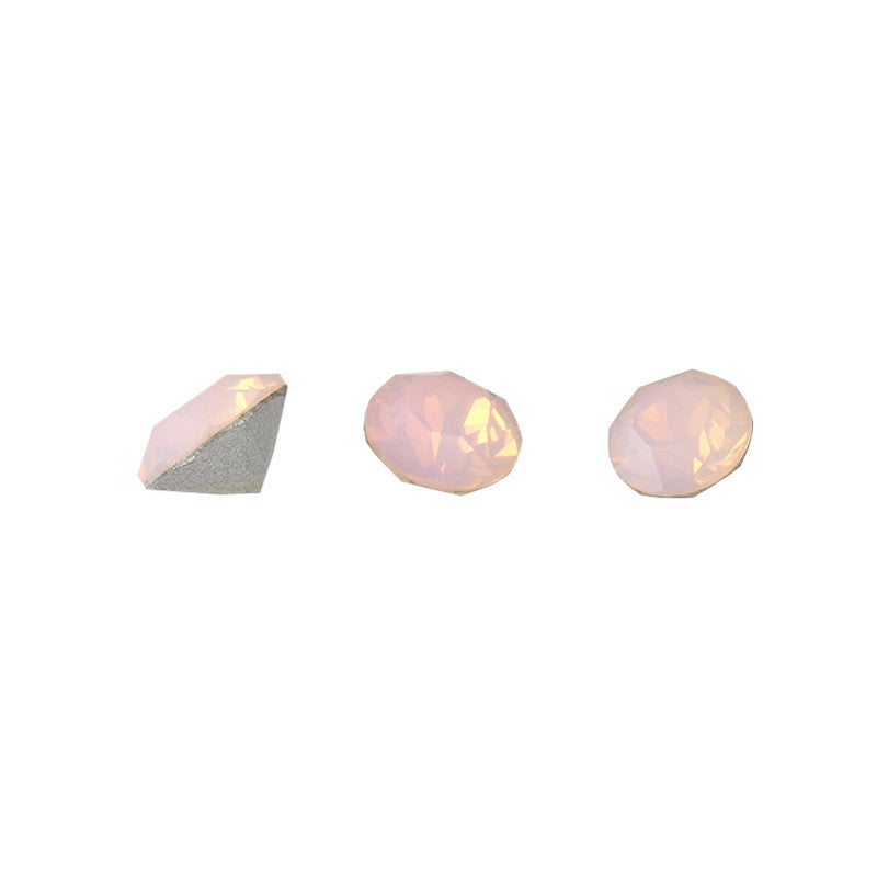 Swarovski Chaton Pointed Back Rhinestone / Rose Water Opal
