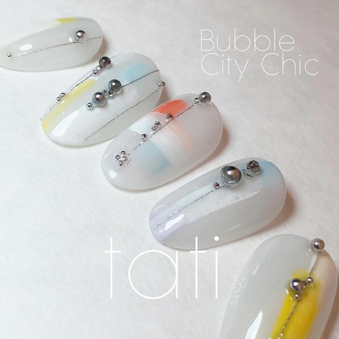 Swarovski Crystalpixie Bubble / City Chic Nail Art
