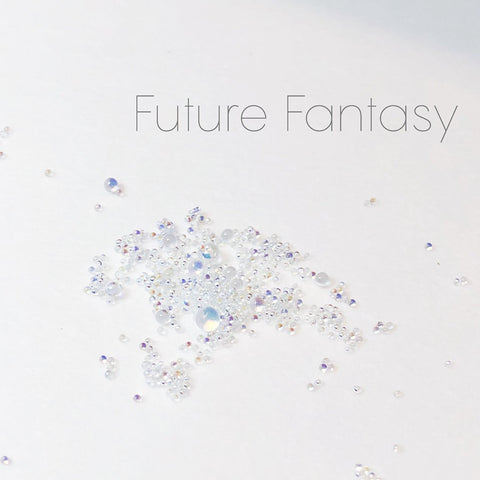 Swarovski Crystalpixie Bubble / Future Fantasy AB Cute Mood Nail Art