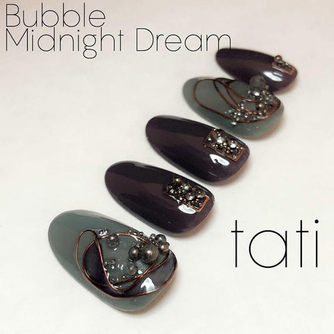 Swarovski Crystalpixie Bubble / Midnight Dream Nail Art Supplies