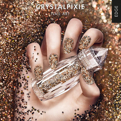 Swarovski Crystalpixie Edge / Punk Candy 2017 New Fall Winter Nail Trend