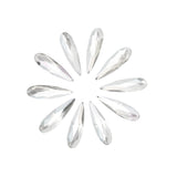 Swarovski Raindrop Flatback Rhinestone / Clear for Nail Art