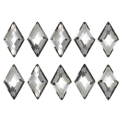 Swarovski Diamond Flatback Rhinestone / Black Diamond Nail Art Crystals