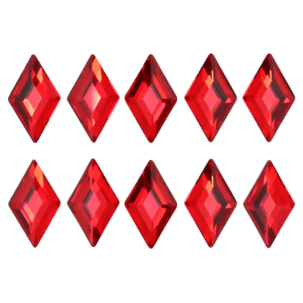Swarovski Diamond Flatback Rhinestone / Light Siam Red for Nail Art