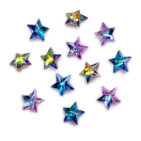 Swarovski Star Pointed Back Crystal Mix Chameleon