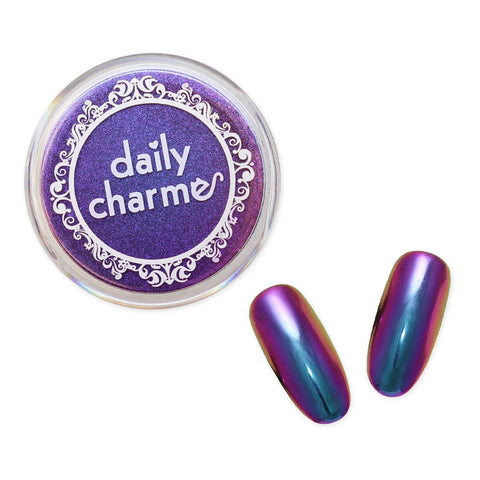 Chameleon Color Shifting Chrome Powder / Hera Violet for Nail Art