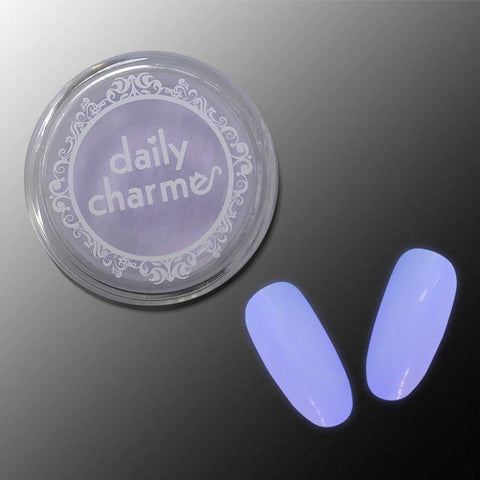 Glow in the Dark Pigment / Violet Glow Halloween Nail Art Supplies