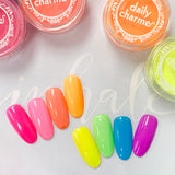 Electric Neon Pigment / Green Apple Summer Nail Color