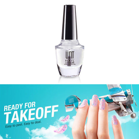 UNT Ready for Takeoff / Peel Off Base Coat Cuticle Guard Water Based Nail Polish Chrome Nails