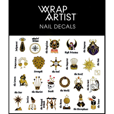 WrapArtist Nail Decals / Tarot Reader
