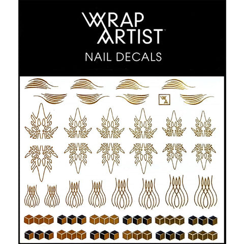 WrapArtist Nail Decals / Queen of the Curve