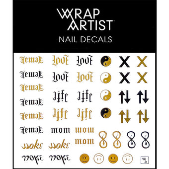 WrapArtist Nail Decals / Double Vision