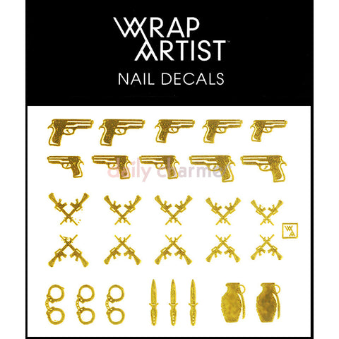 WrapArtist Nail Decals / Bang Bang