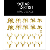 WrapArtist Nail Decals / Bone Structure