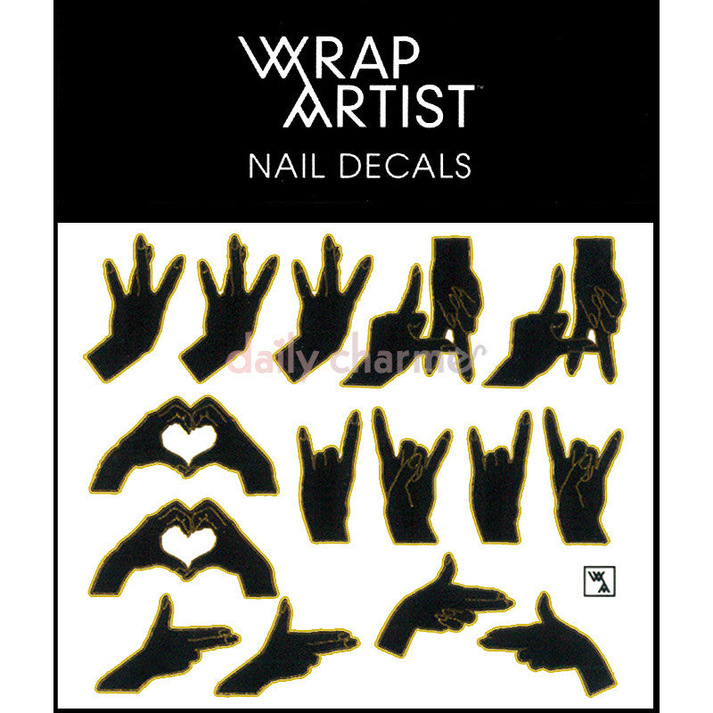 WrapArtist Nail Decals / Handled 1