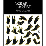 WrapArtist Nail Decals / Handled 2