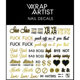 WrapArtist Nail Decals / Say What?