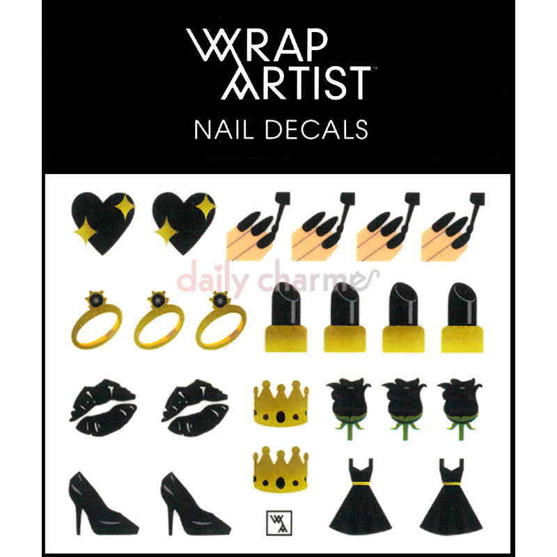 WrapArtist Nail Decals / So Emojinal