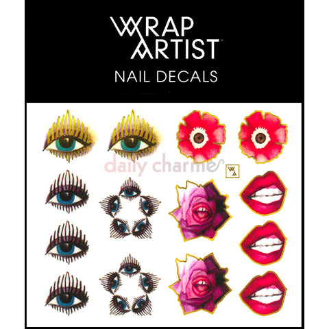 WrapArtist Nail Decals / Beauty Bloom