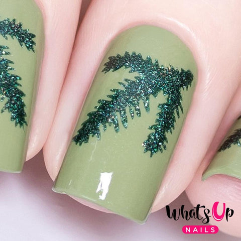Daily Charme Nail Vinyl Sticker Whats Up Nails / Evergreen Stencils