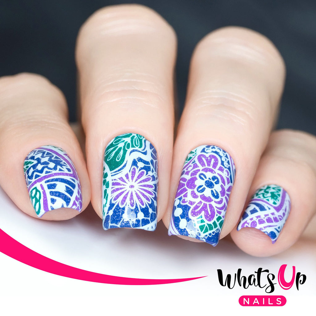 Whats Up Nails / Majestic Flowers – Daily Charme