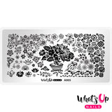 Daily Charme Nail Supply Stamping Plates Whats Up Nails / Floral Paradise